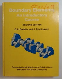 Boundary elements and introductory course (Usado)